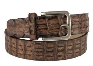 Cintura in schiena di coccodrillo