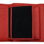 Portafoglio donna rosso Brucle - interno