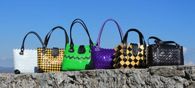 Tendenze moda 2013: le borse ecologiche realizzate in carte di caramelle