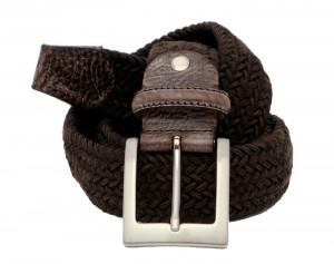 cintura in elastico misto lana intrecciato